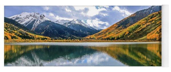 Reflections On Crystal Lake 2 Yoga Mat