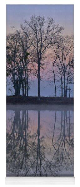 Reflections On The Lake Yoga Mat