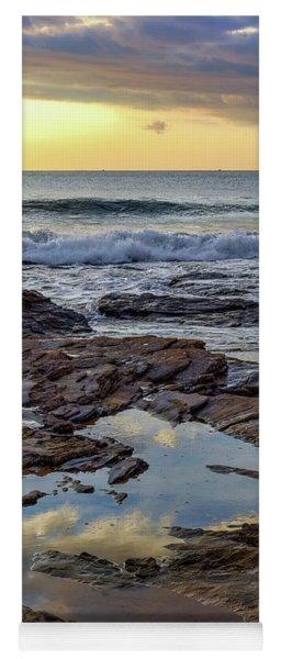 Reflections On The Rocks Yoga Mat