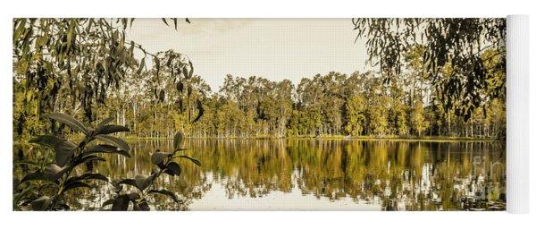 Reflective Rivers Yoga Mat