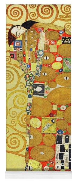 Remastered Art Preparatory Design Stoclet Palace Frieze By Gustav Klimt 20190215 Yoga Mat