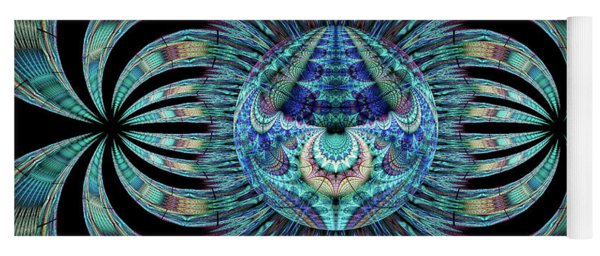 Yoga Mat featuring the digital art Revelation by Missy Gainer