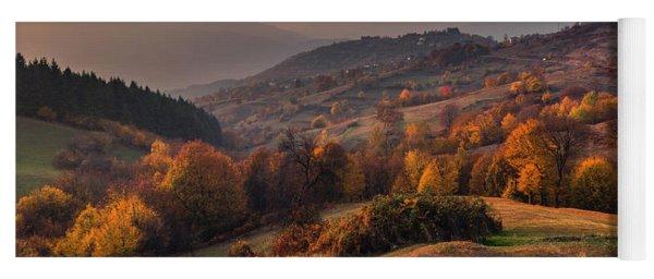 Rhodopean Landscape Yoga Mat
