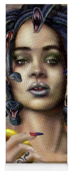 Rihanna Is Medusa Series 1 Yoga Mat