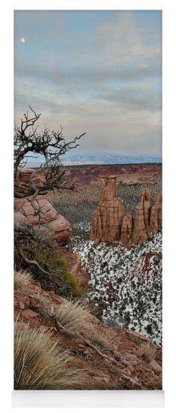 Rim Rock Drive View Of Colorado National Monument Yoga Mat