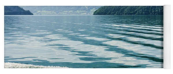 Ripples On Lake Lucerne Yoga Mat