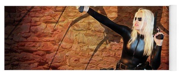 Rise Of The Black Widow Yoga Mat