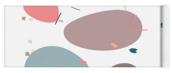 Yoga Mat featuring the digital art River Bank by Marianna Mills