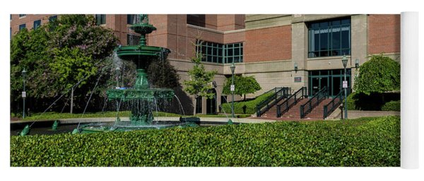 Riverwalk Augusta Ga Fountain Yoga Mat