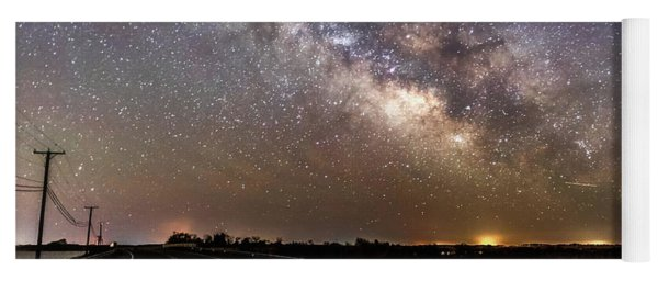 Road To Milky Way Yoga Mat