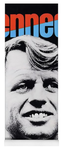 Robert Kennedy Campaign Poster Yoga Mat