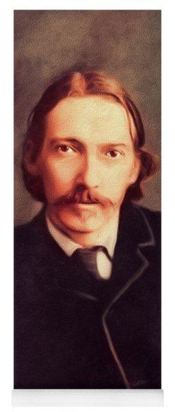 Robert Louis Stevenson Yoga Mats Fine Art America
