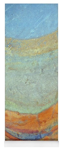 Rock Stain Abstract 7 Yoga Mat