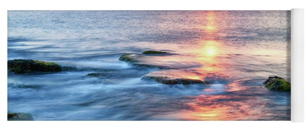 Rockport Pastel Sunset Ma. Yoga Mat