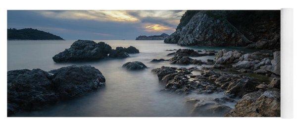 Rocky Coast Near Dubrovnik Yoga Mat