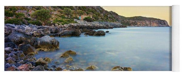 Rocky Coast Near Monemvasia Yoga Mat