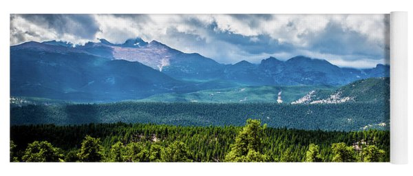 Rocky Mountain Np I Yoga Mat