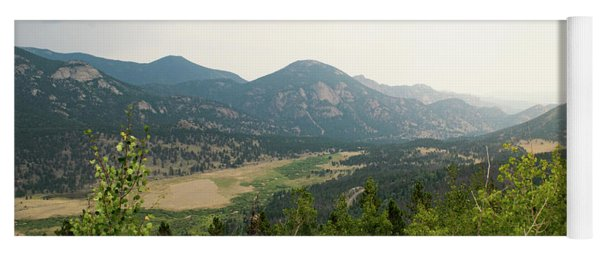 Rocky Mountain Overlook Yoga Mat