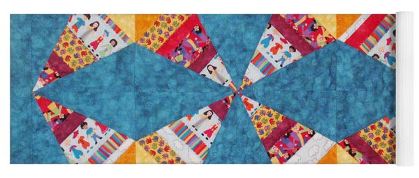 Rocky Road To Kansas Yoga Mat
