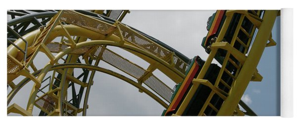 Roller Coaster Loops Yoga Mat