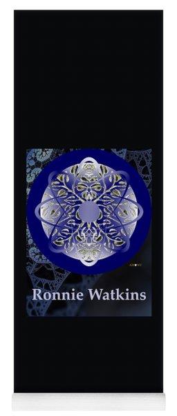 Ronnie Watkins Soul Portrait Yoga Mat