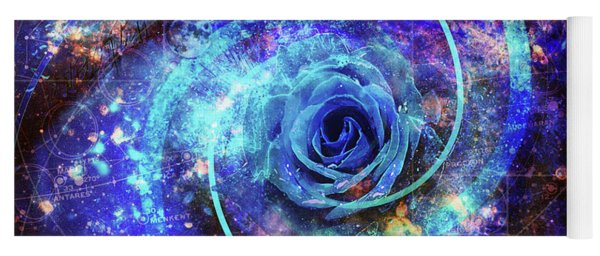 Rosa Azul Yoga Mat