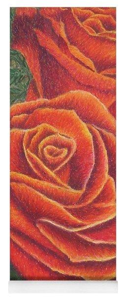 Roses Yoga Mat