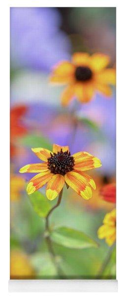 Rudbeckia Triloba Prairie Glow Flowers Yoga Mat