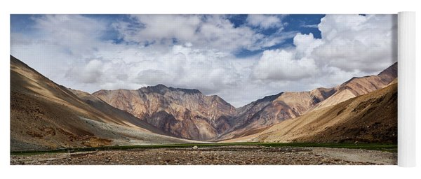 Rugged Himalayan Mountains Yoga Mat
