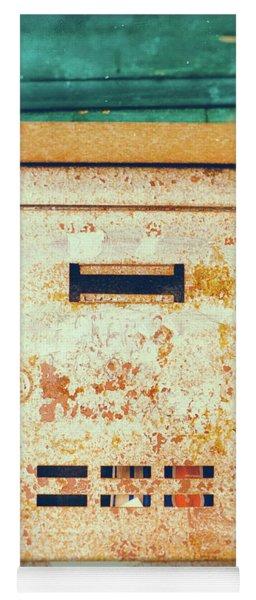 Rusted Mailbox Yoga Mat