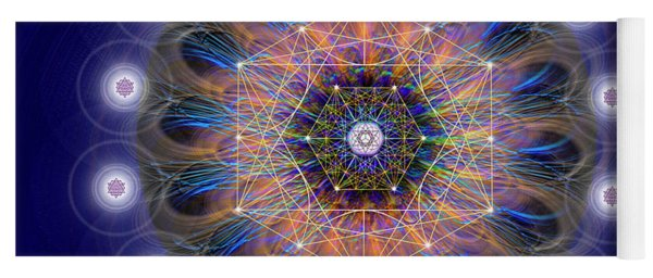 Sacred Geometry 726 Yoga Mat