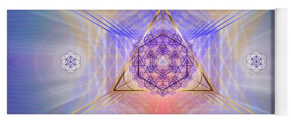 Sacred Geometry 734 Yoga Mat