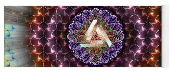 Sacred Geometry 742 Yoga Mat