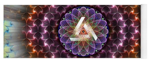 Sacred Geometry 742 Yoga Mat
