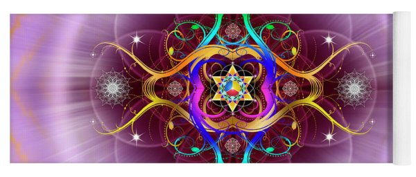 Sacred Geometry 757 Yoga Mat