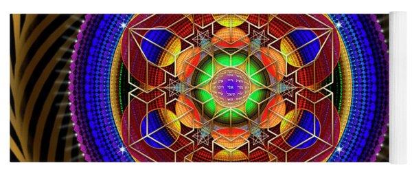 Sacred Geometry 763 Yoga Mat