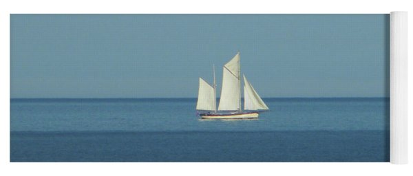 Sail Boat Yoga Mat
