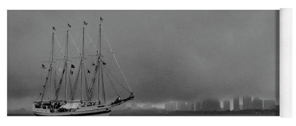 Sail In The Fog Yoga Mat