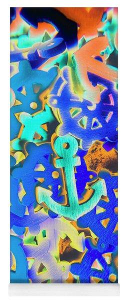 Sailing Pop Art Yoga Mat