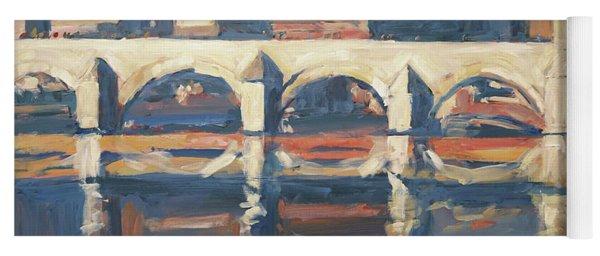 Saint Servaas Bridge And Sappi Yoga Mat
