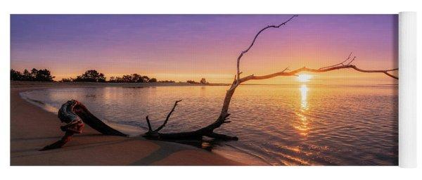 Salisbury Beach Sunrise Yoga Mat