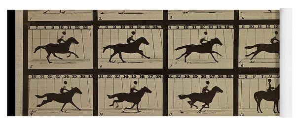 Sallie Gardner At A Gallop - Horse In Motion Yoga Mat