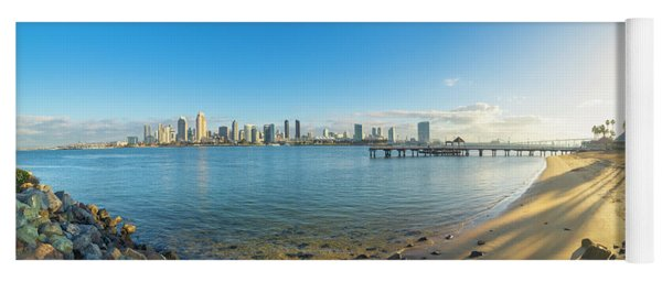 San Diego Bay - Panorama Yoga Mat