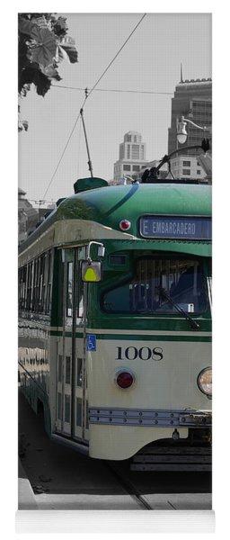 San Francisco - The E Line Car 1008 Yoga Mat