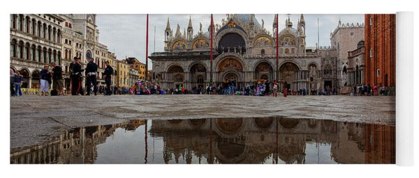 San Marco Cathedral Venice Italy Yoga Mat