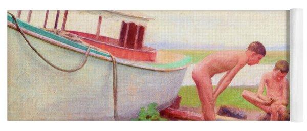 Sand Burr, 1894 Yoga Mat