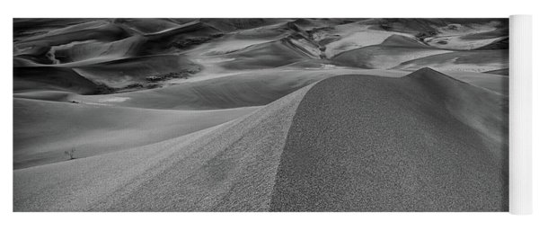 Yoga Mat featuring the photograph Sand Dune Ridge by Joe Sparks