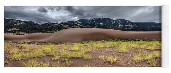 Yoga Mat featuring the photograph Sand Dunes by Joe Sparks