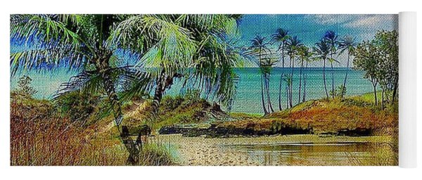 Sand To The Shore Montage Yoga Mat