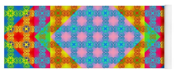 Sankofa Kaleidoscope Prime 1 Yoga Mat